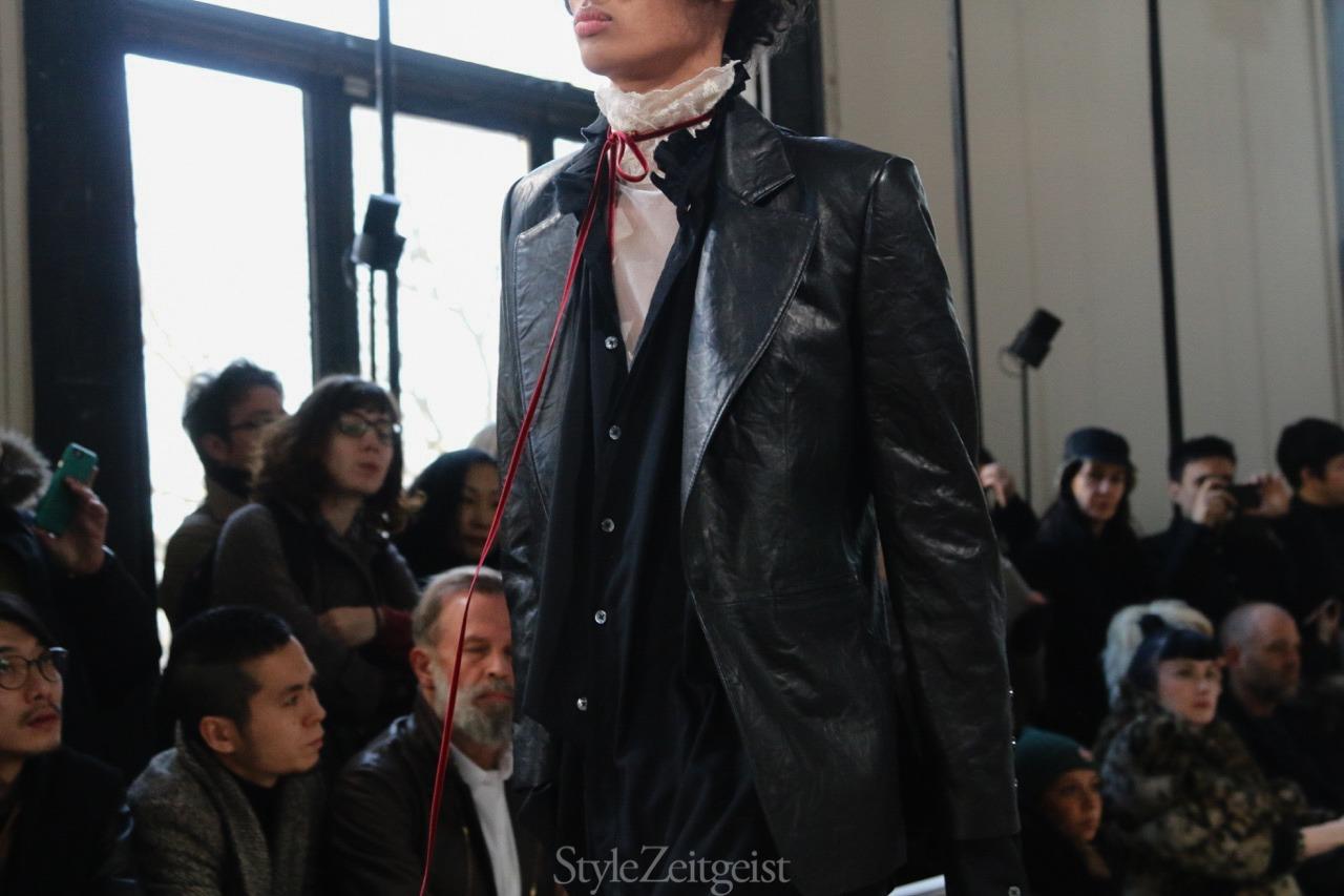 Ann Demeulemeester F/W17 Men's - Paris - StyleZeitgeist, PFW, Patrick LaDuke, Paris, MENSWEAR, FW17, Fashion, Fall Winter, Ann Demeulemeester, 2017