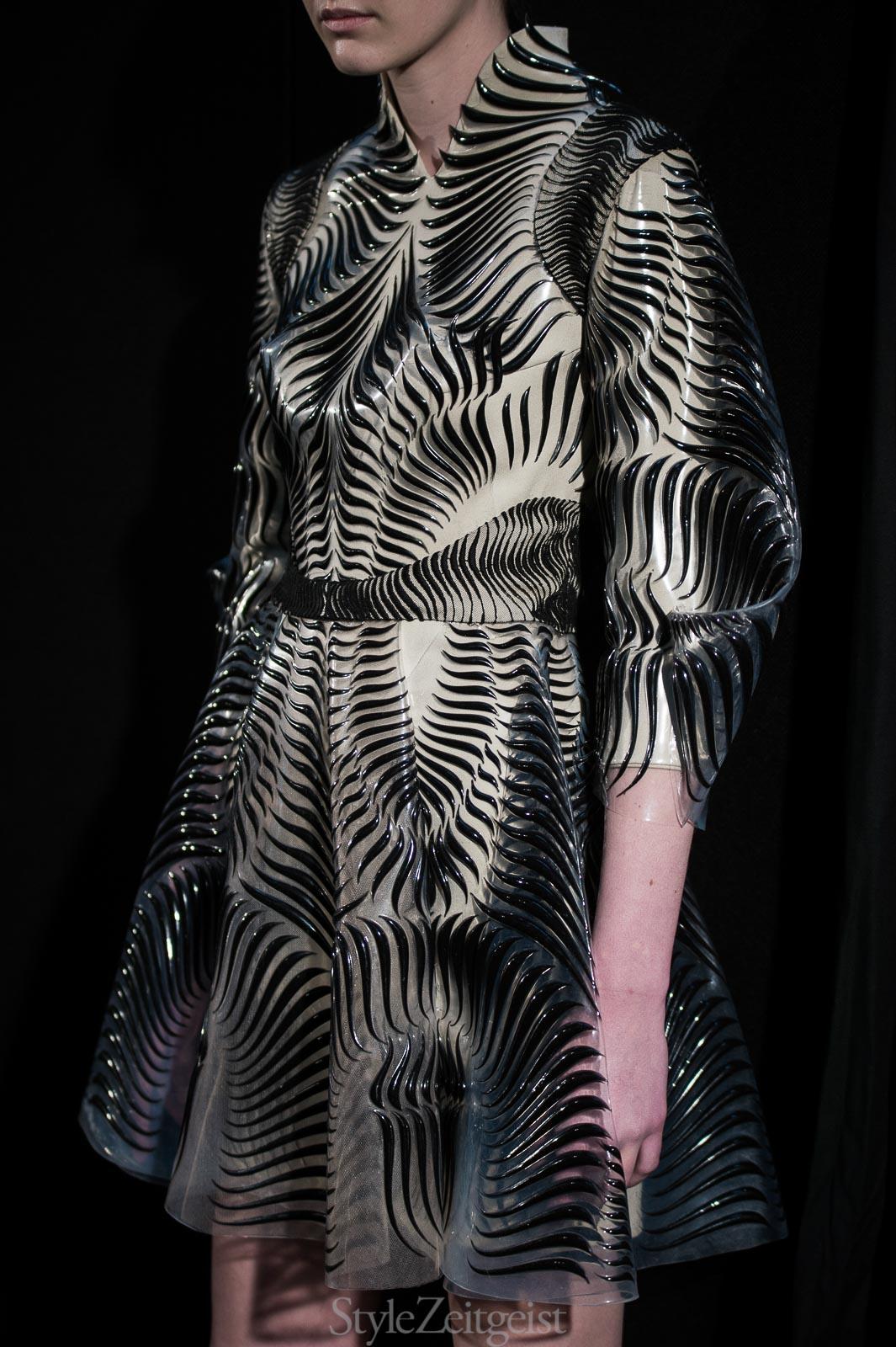 Iris van Herpen S/S17 Haute Couture - Paris - fashion - StyleZeitgeist, SS17, Spring Summer, Patrick LaDuke, Iris Van Herpen, Haute Couture, 2017