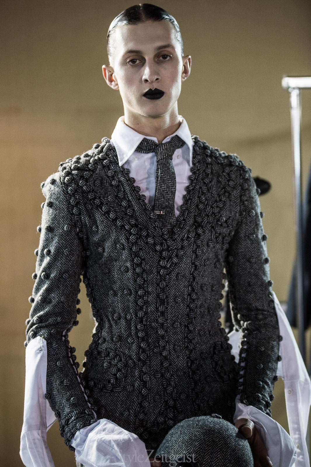 Thom Browne F/W17 Men's - Paris - fashion - Thom Browne PFW Patrick LaDuke Paris MENSWEAR FW17 Fashion StyleZeitgeist Fall Winter 2017
