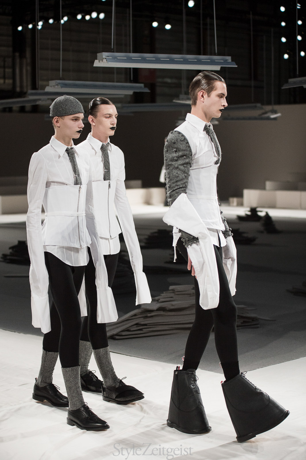 Thom Browne F/W17 Men's - Paris - fashion - Thom Browne, PFW, Patrick LaDuke, Paris, MENSWEAR, FW17, Fashion StyleZeitgeist, Fall Winter, 2017