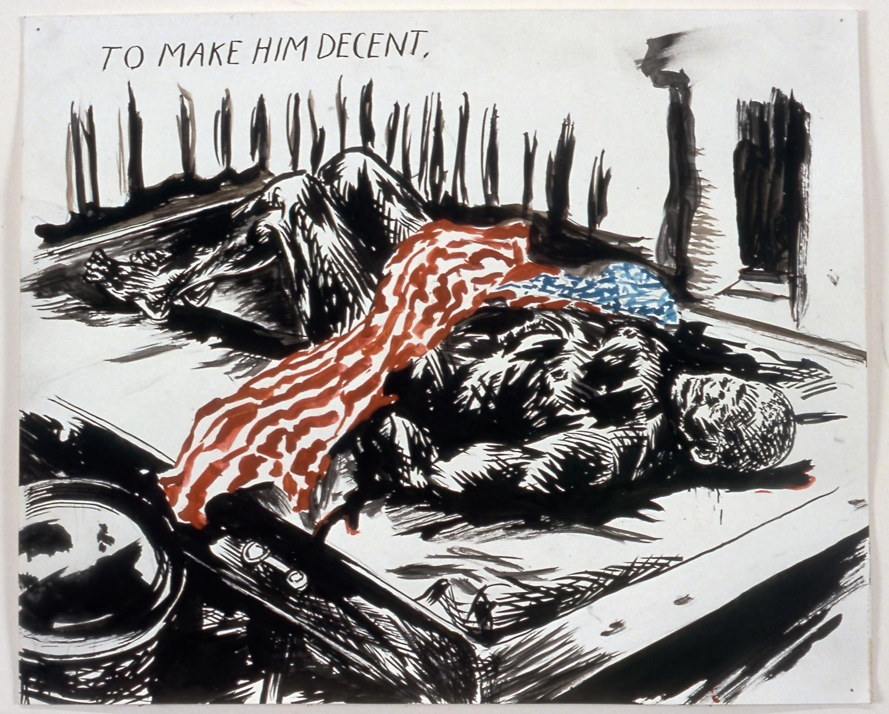 Raymond Pettibon's Rage Against the Machine - culture - StyleZeitgeist, Raymond Pettibon, Rage Against the Machine, Eugene Rabkin, Culture, 2017
