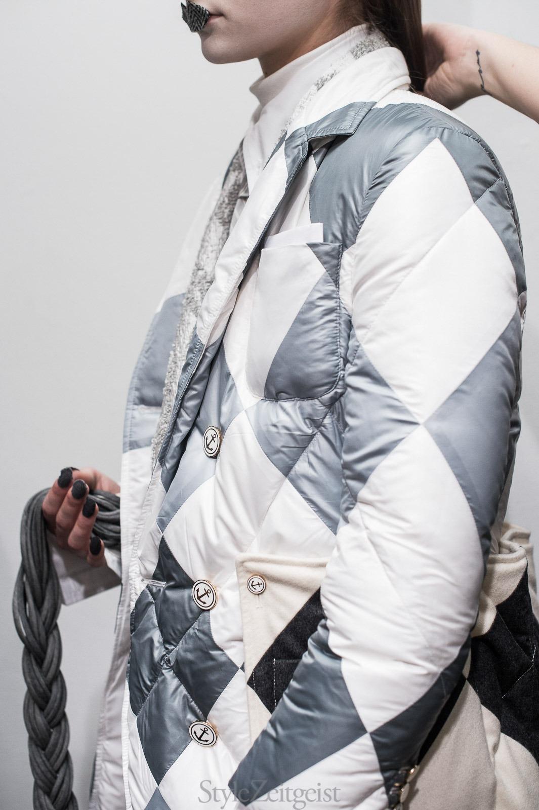 Thom Browne F/W17 Women's - New York Backstage - fashion - Thome Browne, StyleZeitgeist, NYFW, New York, FW17, Fashion, Fall Winter, Backstage, 2017