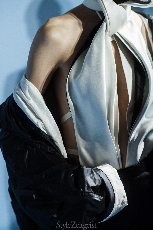 Haider Ackermann F/W17 Women's - Paris Backstage - fashion - StyleZeitgeist, PFW, Paris, Haider Ackermann, FW17, Fashion, Fall Winter, Backstage, 2017
