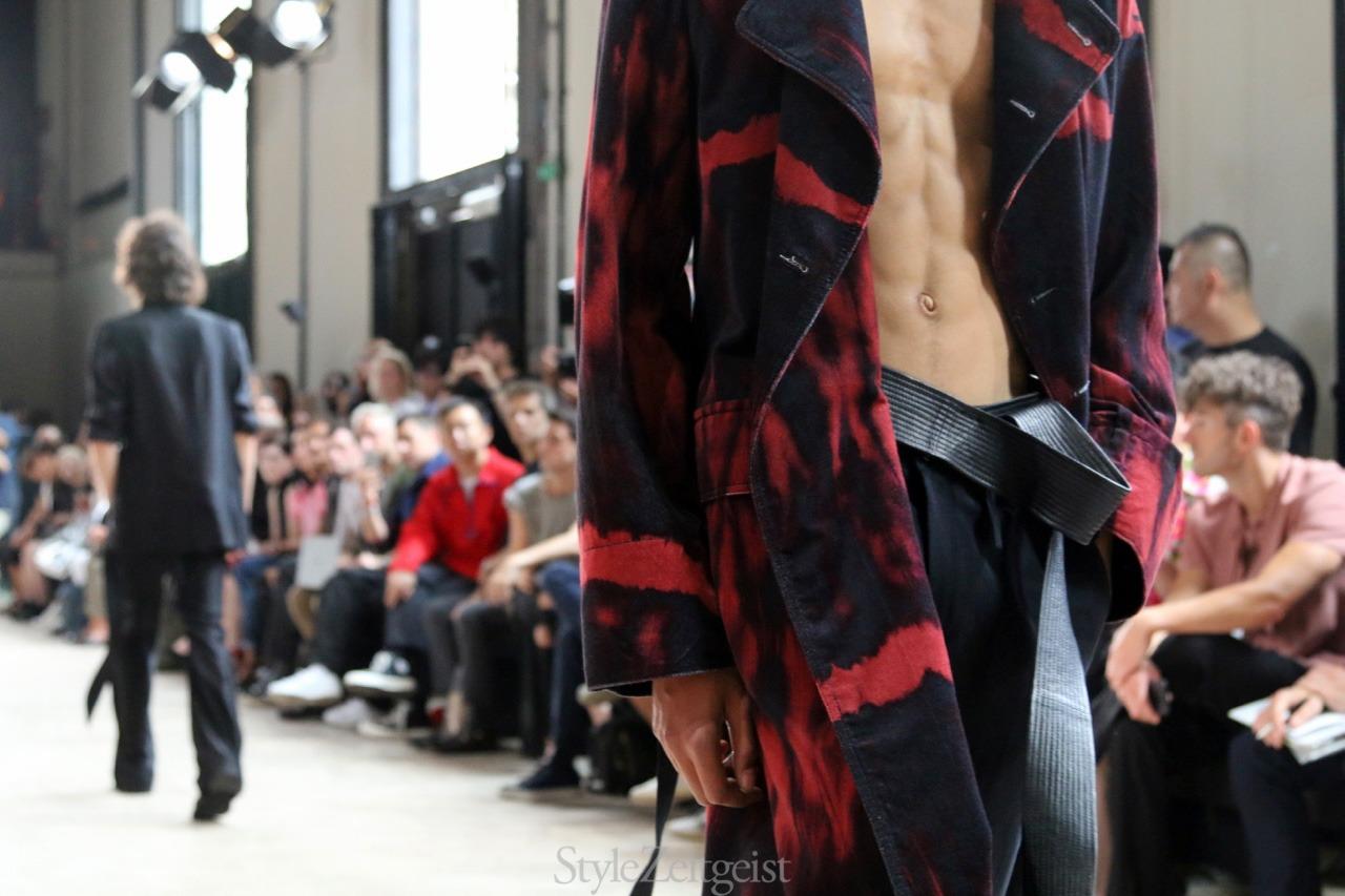 Ann Demeulemeester S/S18 Men's - Paris - fashion - StyleZeitgeist, SS18, Spring Summer, PFW, Paris, MENSWEAR, Mensfashion, Fashion, Ann Demeulemeester, 2017