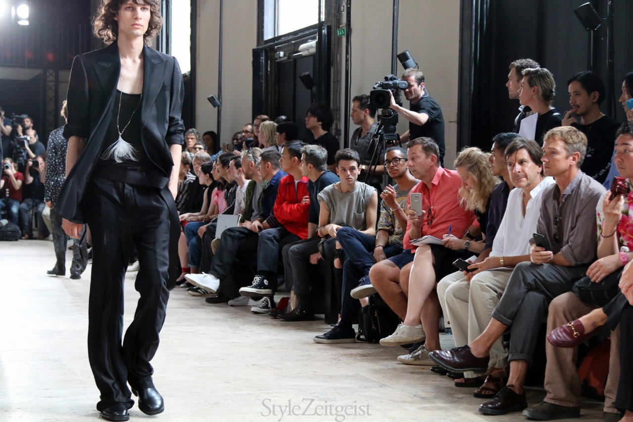 Ann Demeulemeester S/S18 Men's - Paris - StyleZeitgeist, SS18, Spring Summer, PFW, Paris, MENSWEAR, Mensfashion, Fashion, Ann Demeulemeester, 2017