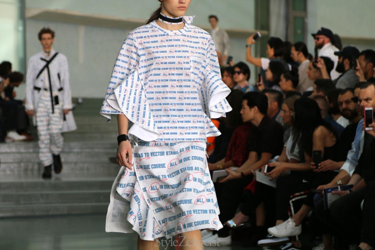 Sacai S/S18 Men's - Paris - fashion - StyleZeitgeist, SS18, Spring Summer, Sacai, PFW, Paris, MENSWEAR, Mens Fashion, Fashion, 2017