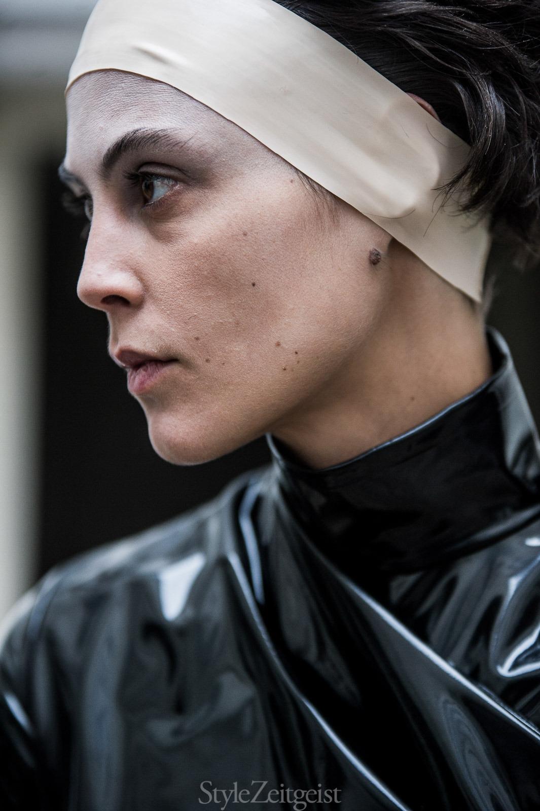 A.F. Vandevorst F/W17 Couture - Backstage - fashion - StyleZeitgeist, PFW, Paris, FW, Fashion, Fall Winter, Couture, Backstage, AF Vandevorst, 2017