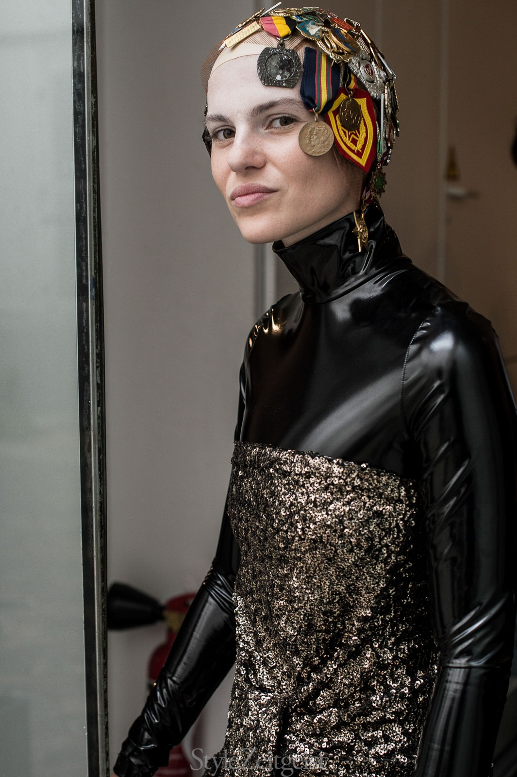 A.F. Vandevorst F/W17 Couture - Backstage - StyleZeitgeist, PFW, Paris, FW, Fashion, Fall Winter, Couture, Backstage, AF Vandevorst, 2017