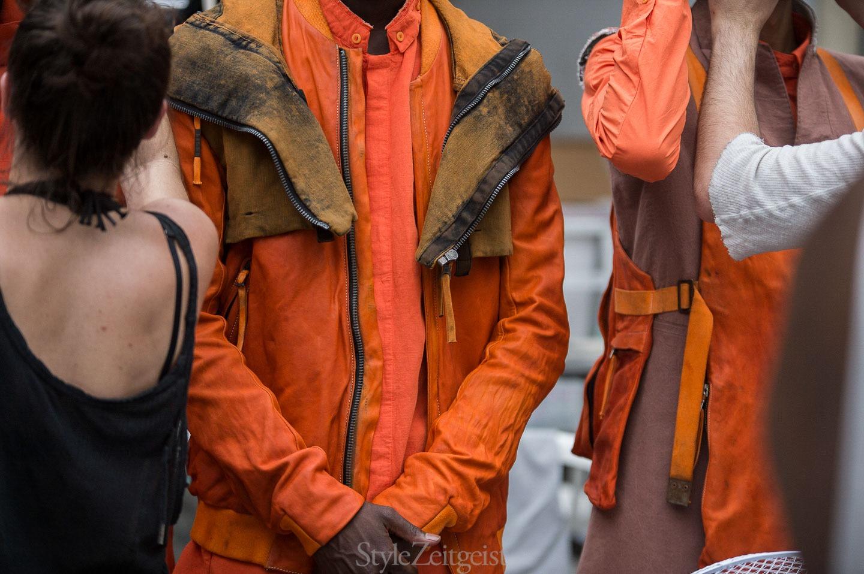 Boris Bidjan Saberi S/S18 Men's - Backstage - fashion - StyleZeitgeist, SS18, Spring Summer, PFW, Paris, MENSWEAR, Fashion, Boris Bidjan Saberi, BBS, Backstage