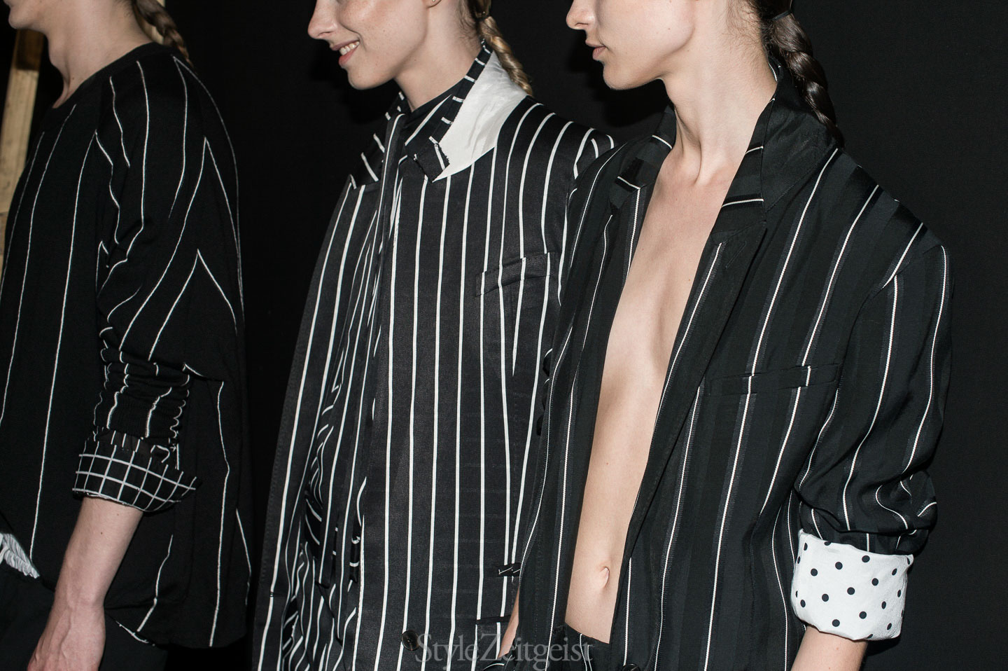 Haider Ackermann S/S18 Men's - Backstage - fashion - StyleZeitgeist SS18 Spring Summer PFW Paris MENSWEAR Haider Ackermann Fashion Backstage 2017