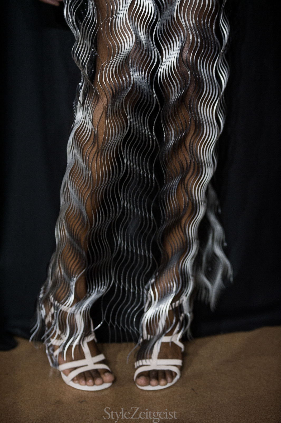Iris van Herpen F/W17 Couture - Backstage - fashion - StyleZeitgeist, PFW, Paris, Iris Van Herpen, FW17, Fashion, Fall Winter, Backstage, 2017