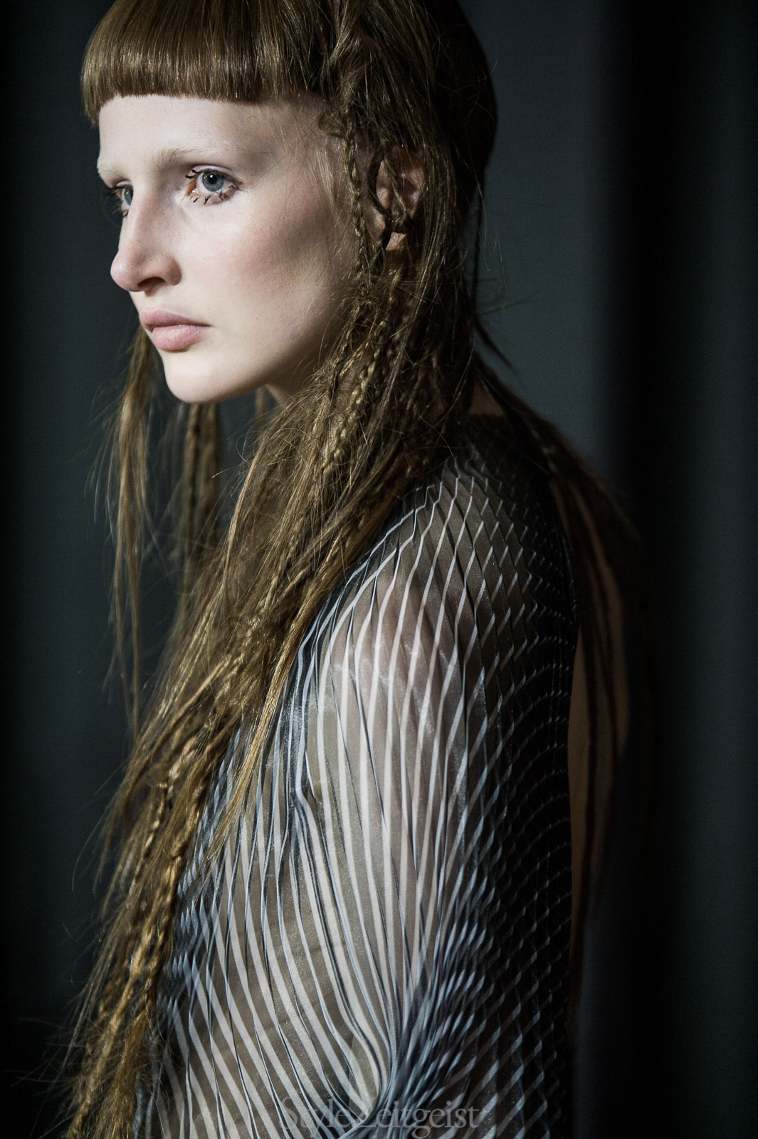 Iris van Herpen F/W17 Couture - Backstage - StyleZeitgeist, PFW, Paris, Iris Van Herpen, FW17, Fashion, Fall Winter, Backstage, 2017