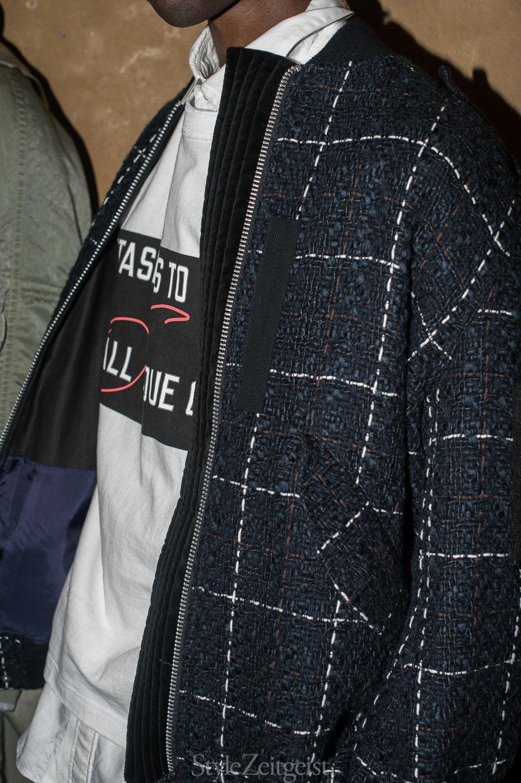 Sacai S/S18 Men's - Backstage - StyleZeitgeist, SS18, Spring Summer, Sacai, PFW, Paris, MENSWEAR, Fashion, Backstage, 2017