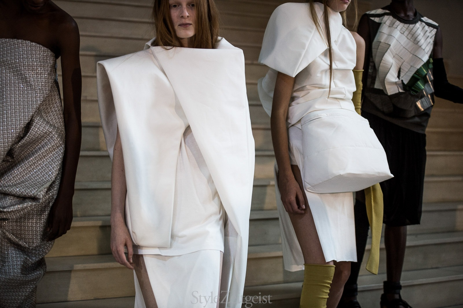 Rick Owens S/S18 Women's – Paris Backstage - fashion - Womenswear, StyleZeitgeist, SS18, Spring Summer, Rick Owens, PFW, Paris, Julien Boudet, Fashion, Backstage, 2017