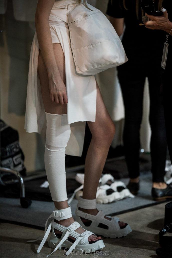 Rick Owens S/S18 Women's – Paris Backstage - fashion - Womenswear, StyleZeitgeist, SS18, Spring Summer, Rick Owens, PFW, Paris, Julien Boudet, Fashion, Backstage, 2017