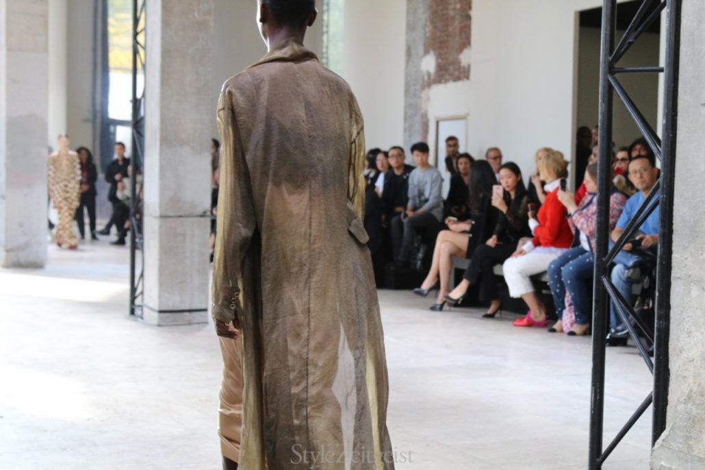 Uma Wang S/S18 Women's – Paris - Womenswear, Uma Wang, StyleZeitgeist, SS18, Spring Summer, PFW, Paris, Fashion, 2017