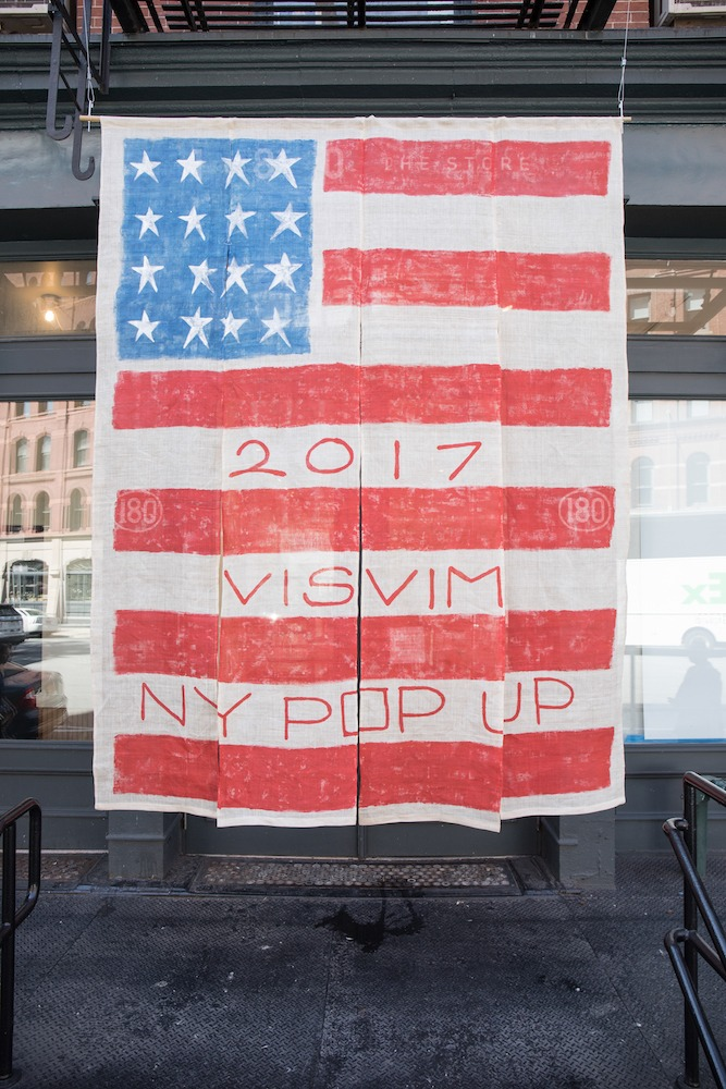 Visvim Opens New York Pop-Up at 180 - Visvim, StyleZeitgeist, Retail, pop-up shop, New York, Fashion, 2017