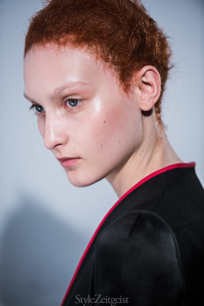 Haider Ackermann S/S18 Women's – Paris Backstage - Womenswear, Women's Fashion, StyleZeitgeist, SS18, Spring Summer, PFW, Paris Fashion Week, Paris, Julien Boudet, Haider Ackermann, Fashion, bleumode, Backstage, 2017