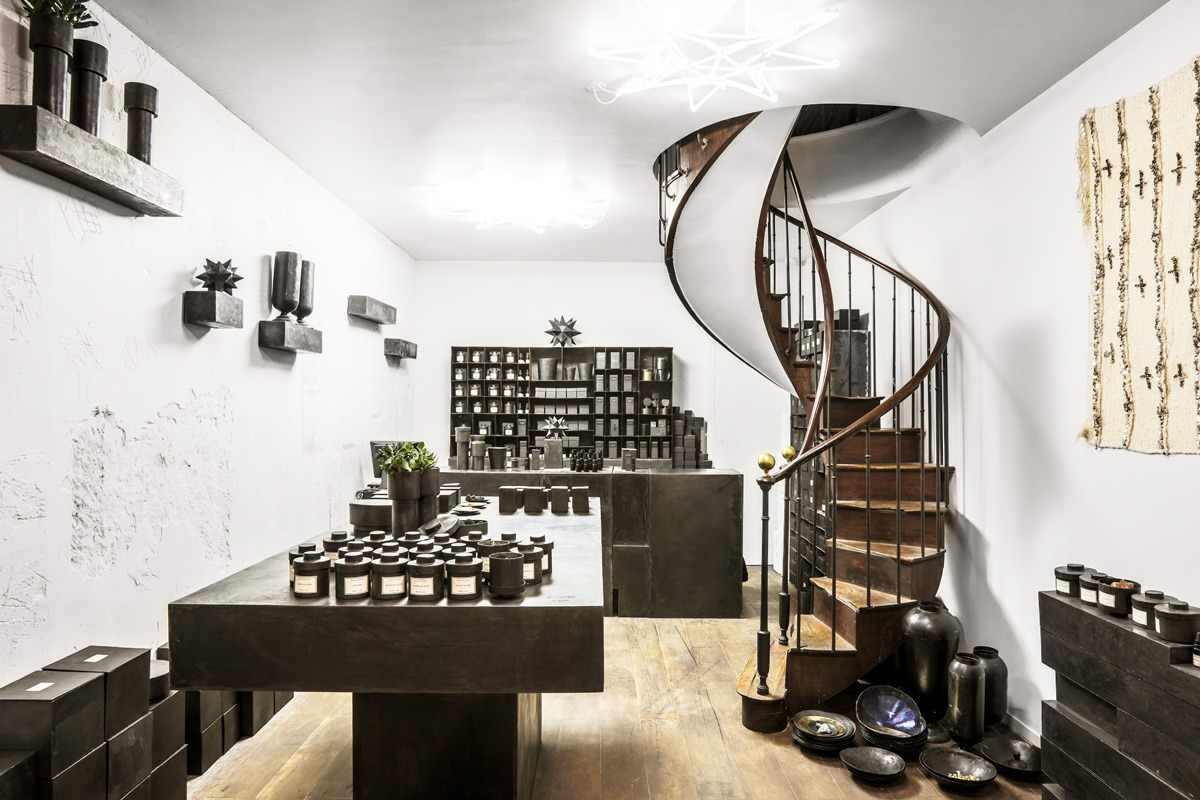 Mad et Len Opens Paris Store - retail, design - Store, Shop, Retail, Perfume, Paris, made et len paris store, Mad Et Len, candles
