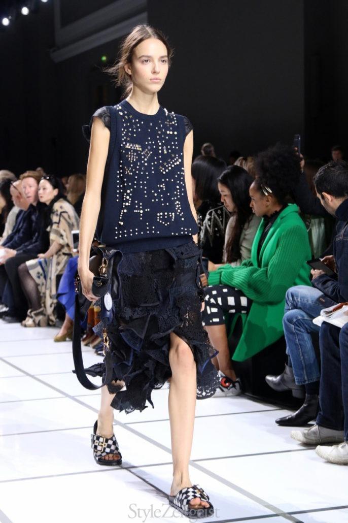 Sacai S/S18 Women's – Paris - Womenswear, Women's Fashion, StyleZeitgeist, SS18, Spring Summer, Sacai, PFW, Paris Fashion Week, Paris, Fashion, 2017