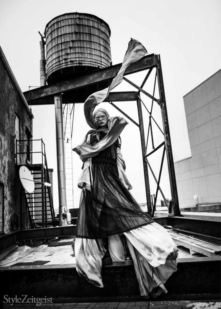 Editorial: What She Said - Yana Baradim, What She Said, Undercover, StyleZeitgeist, Rick Owens, Karlo Steele, Fashion, Editorial, Ann Demeulemeester, 2017