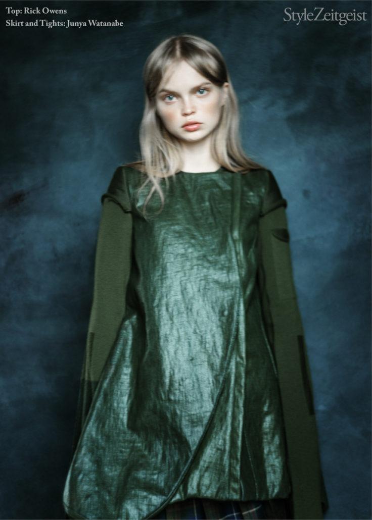 Editorial: What She Said - fashion, editorial - Yana Baradim, What She Said, Undercover, StyleZeitgeist, Rick Owens, Karlo Steele, Fashion, Editorial, Ann Demeulemeester, 2017