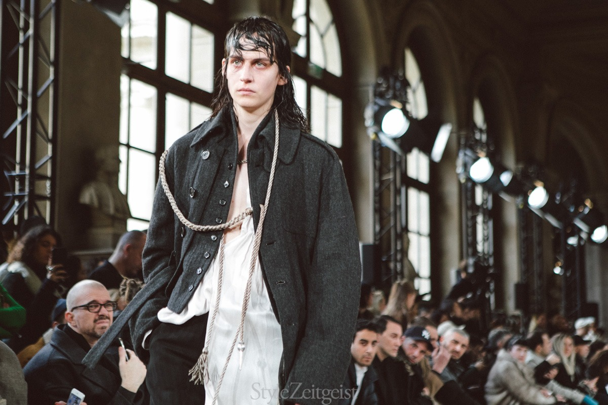Ann Demeulemeester F/W18 Men's – Paris - fashion - PFW, MENSWEAR, Mens Fashion, Fw18, Fashion, Fall Winter, Ann Demeulemeester, 2018