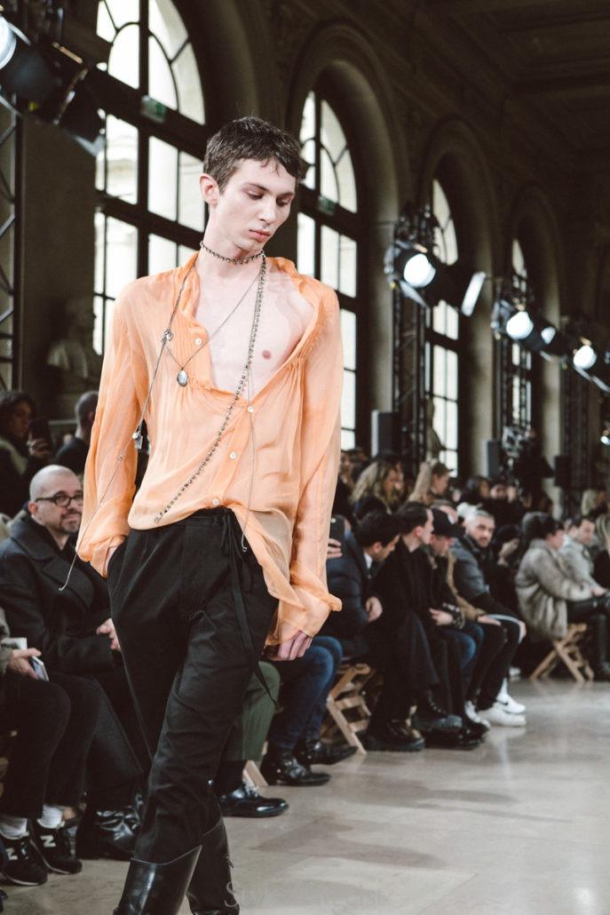 Ann Demeulemeester F/W18 Men's – Paris - PFW, MENSWEAR, Mens Fashion, Fw18, Fashion, Fall Winter, Ann Demeulemeester, 2018