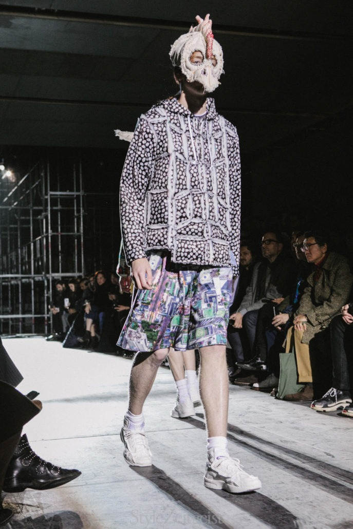 Comme des Garçons Homme Plus F/W18 Men's – Paris - fashion - PFW, Paris, MENSWEAR, Mens Fashion, Matthew Reeves, Fw18, Fashion, Fall Winter, Comme Des Garcons Homme Plus, Comme Des Garcons, 2018