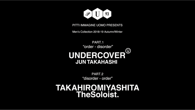 Undercover / TAKAHIROMIYASHITATheSoloist. F/W18 at Pitti Uomo Livestream - fashion - Undercover, TAKAHIROMIYASHITA The Soloist, Pitti Uomo, MENSWEAR, Mens Fashion, Japanese Fashion, Japanese, 2018