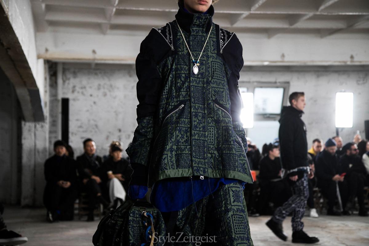 Sacai F/W18 Men's – Paris - fashion - Sacai, PFW, Paris, MENSWEAR, Mens Fashion, Fw18, Fashion, Fall Winter, 2018