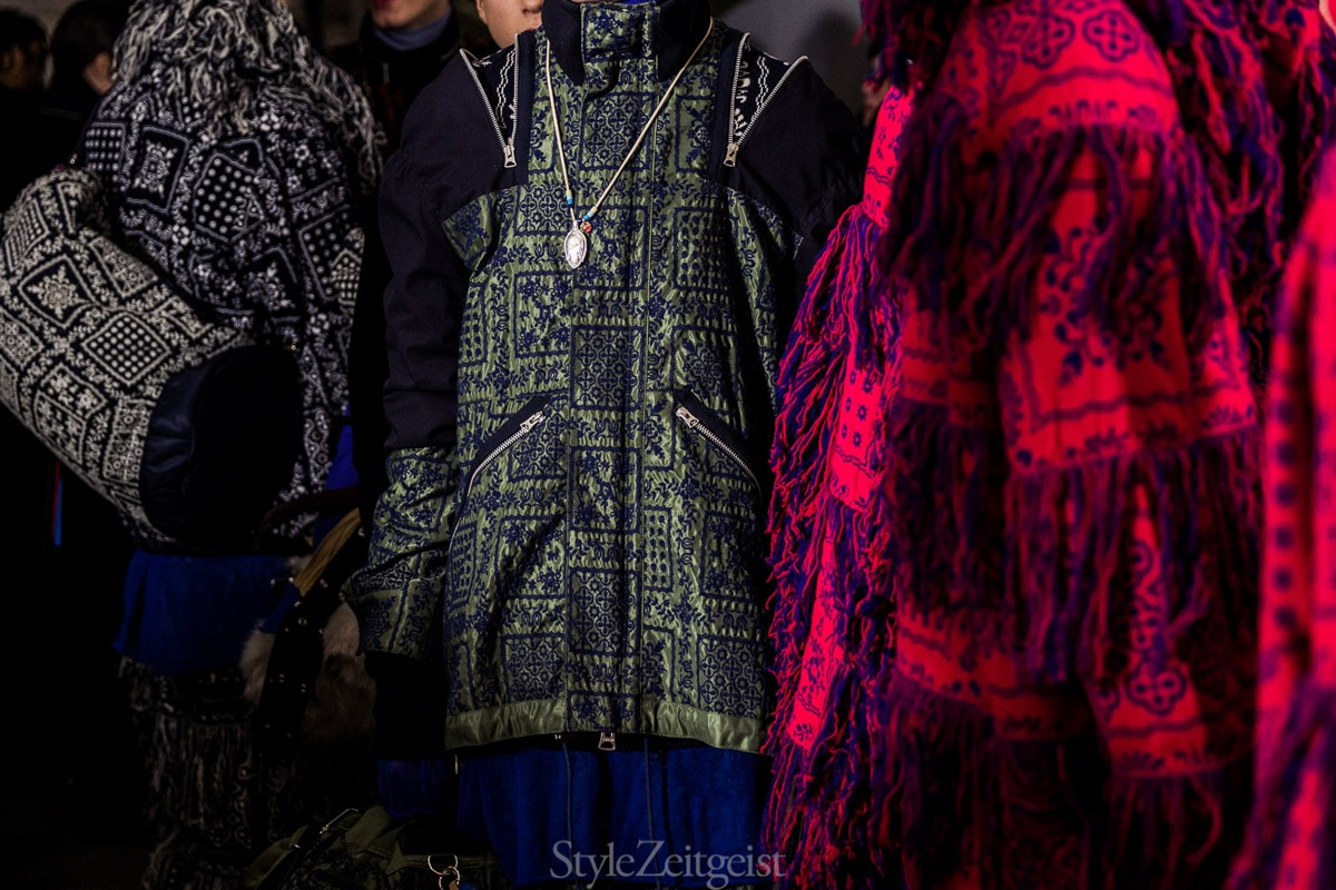 Sacai F/W18 Men's - Paris Backstage - fashion - Sacai, PFW, Paris Fashion Week, Paris, MENSWEAR, Mens Fashion, Fw18, Fashion, Fall Winter, Backstage, 2018