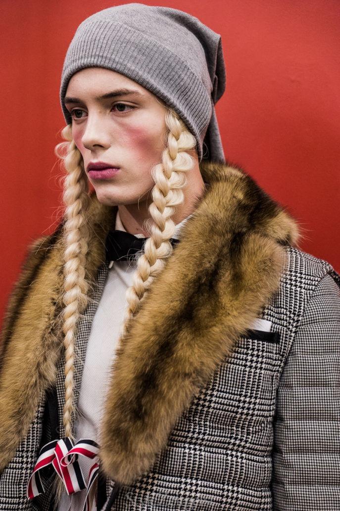 Thom Browne F/W18 Men's - Paris Backstage - Thom Browne, PFW, Paris Fashion Week, Paris, MENSWEAR, Mens Fashion, Julien Boudet, Fw18, Fashion, Fall Winter, Backstage, 2018