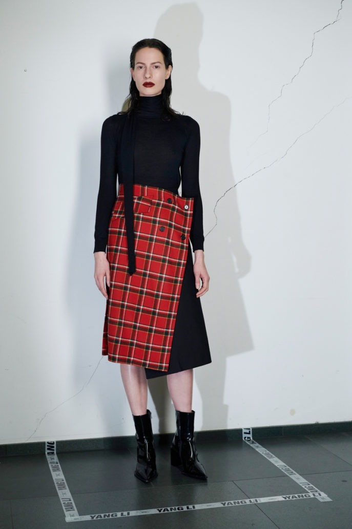 Yang Li Pre-Fall 2018 Women's – Lookbook - Yang Li, Womenswear, Women's Fashion, lookbook, Fw18, Fashion, Fall Winter, 2018