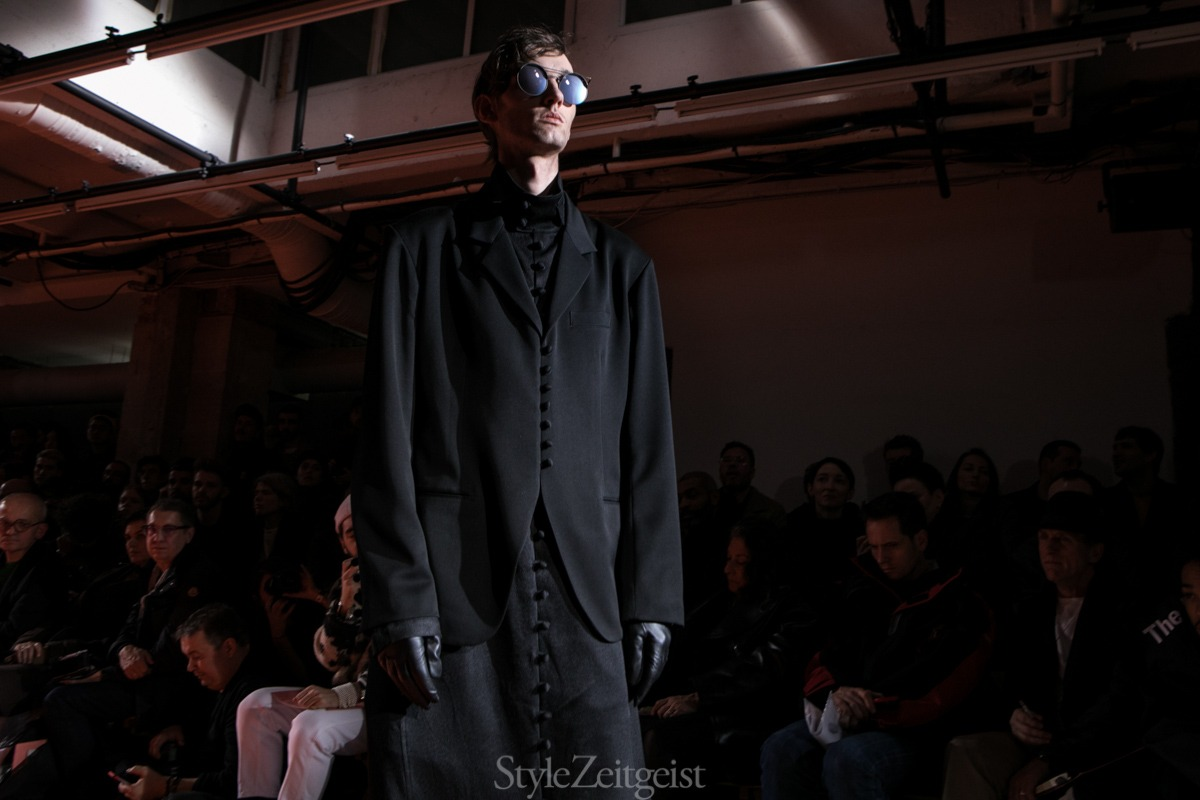 Yohji Yamamoto F/W18 Men's – Paris - fashion - Yohji Yamamoto, PFW, Paris, MENSWEAR, Mens Fashion, Fw18, Fashion, Fall Winter, 2018