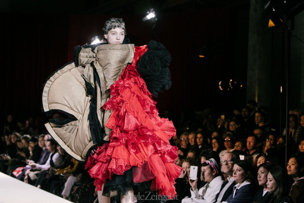 Comme des Garçons F/W18 Women's - Paris - fashion - Womenswear, Women's Fashion, PFW, Paris Fashion Week, Paris, Fw18, Fall Winter, Comme Des Garcons, 2018