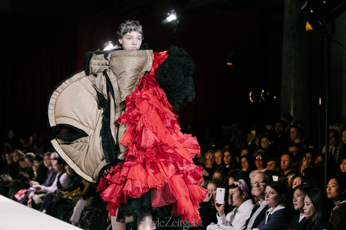 Comme des Garçons F/W18 Women's - Paris - fashion - Womenswear, Women's Fashion, PFW, Paris Fashion Week, Paris, Fw18, Fall Winter, Comme Des Garcons, 2018