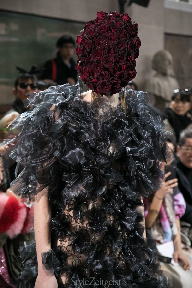 Noir Kei Ninomiya F/W18 Women's – Paris - fashion - Womenswear, Women's Fashion, PFW, Paris Fashion Week, Paris, Noir Kei Ninomiya, Fw18, Fashion, Fall Winter, 2018