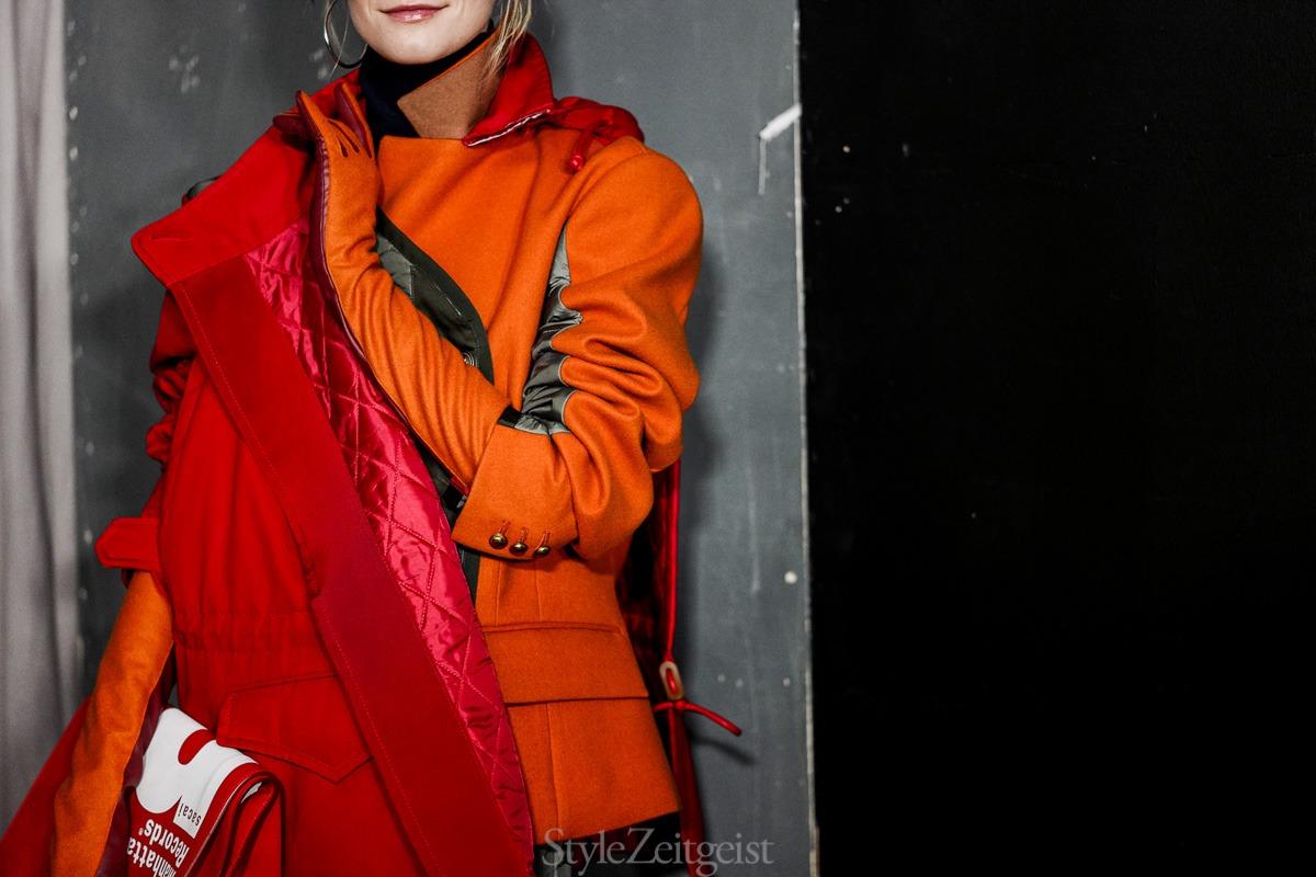 Sacai F/W18 Women's – Paris Backstage - fashion - Womenswear, Women's Fashion, Rick Owens, PFW, Paris Fashion Week, Paris, Fw18, Fashion, Fall Winter, 2018