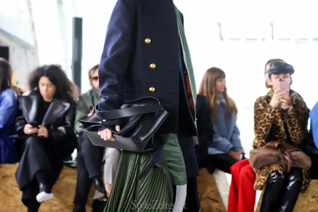 Sacai F/W18 Women's – Paris - Womenswear, Women's Fashion, Sacai, PFW, Paris Fashion Week, Paris, Fw18, Fashion, Fall Winter, 2018