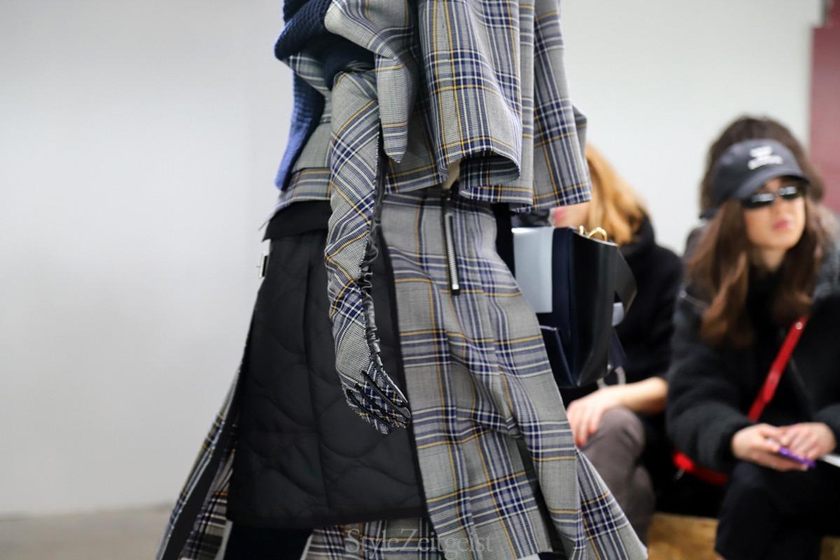 Sacai F/W18 Women's – Paris - fashion - Womenswear, Women's Fashion, Sacai, PFW, Paris Fashion Week, Paris, Fw18, Fashion, Fall Winter, 2018