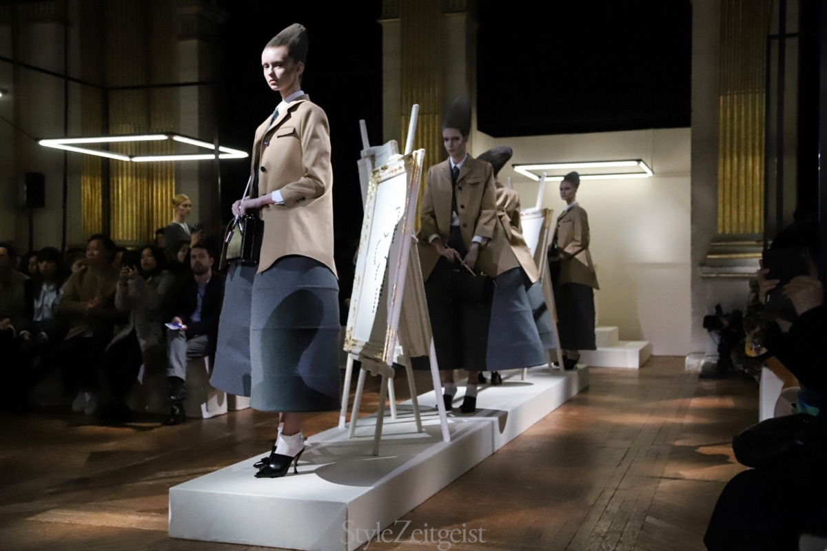 Thom Browne F/W18 Women's – Paris - fashion - Womenswear, Women's Fashion, Thom Browne, PFW, Paris Fashion Week, Paris, Fw18, Fashion, Fall Winter, 2018