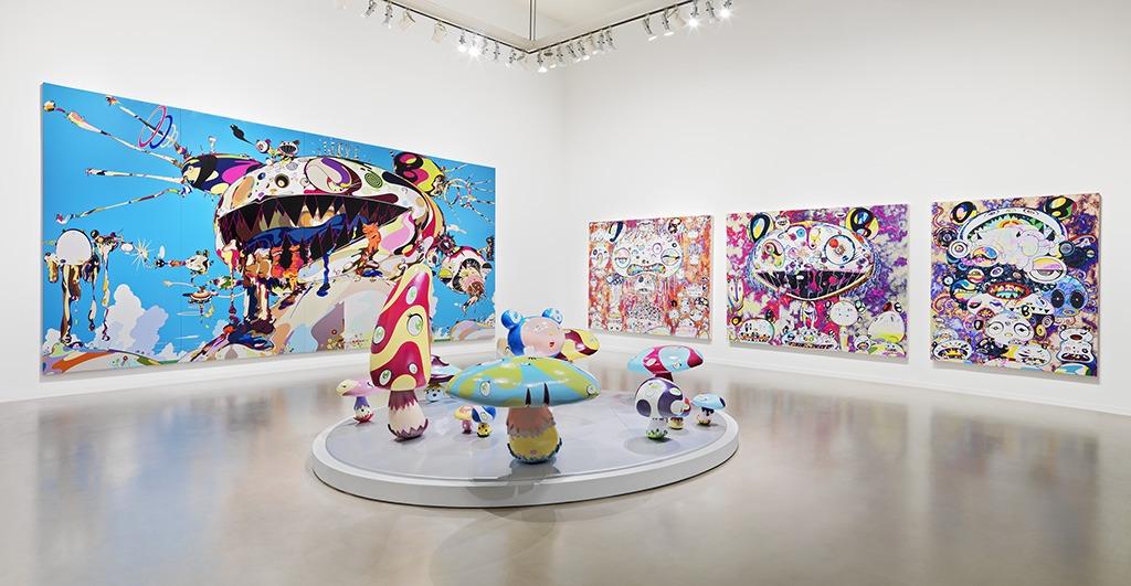Takashi Murakami at the Vancouver Art Gallery - culture - vancouver art gallery, takashi murakami, japanese art, japan, Culture, Art