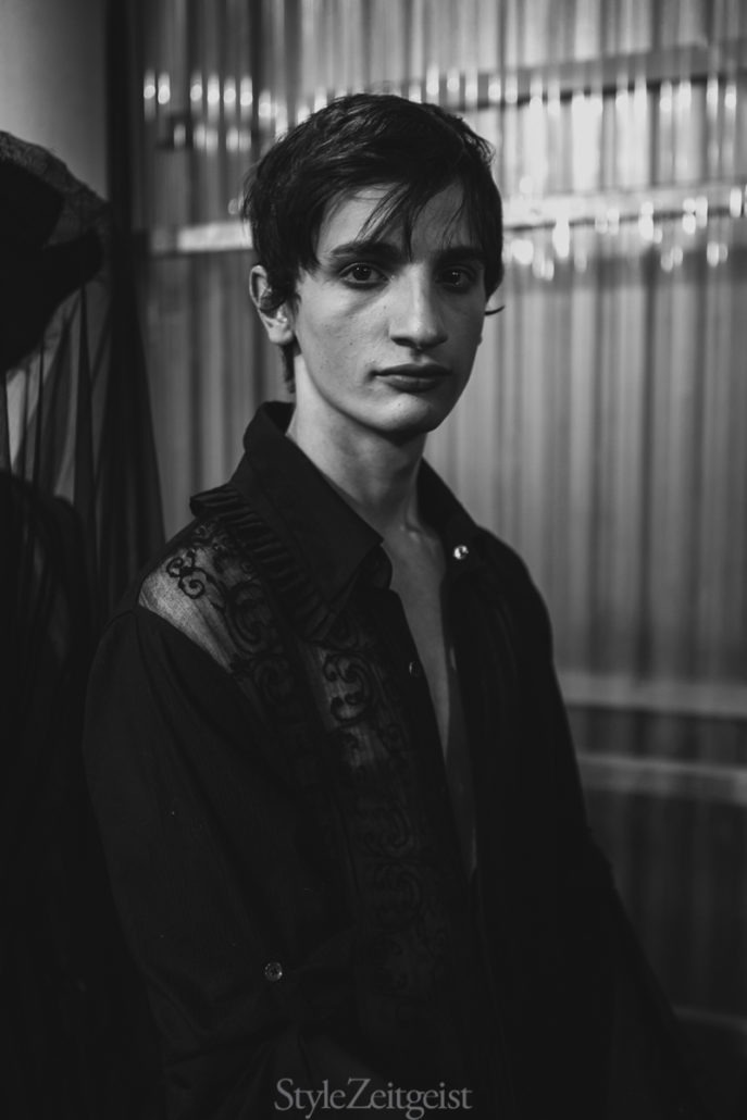 Ann Demeulemeester S/S19 Men's – Paris Backstage - SS19, Spring Summer, PFW, Paris Fashion Week, Paris, MENSWEAR, Mens Fashion, Matthew Reeves, Fashion, Ann Demeulemeester, 2018