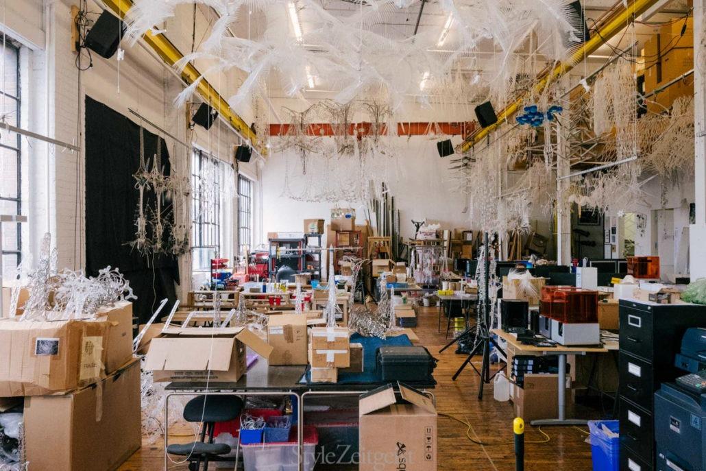 Studio Visit: Philip Beesley - design - Philip Beesley, Iris Van Herpen, Design, Culture, Architecture, 2018
