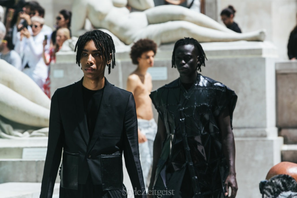 Rick Owens S/S19 Men's – Paris - fashion - SS19, Spring Summer, Rick Owens, PFW, Paris Fashion Week, Paris, MENSWEAR, Mens Fashion, Matthew Reeves, Fashion, 2018