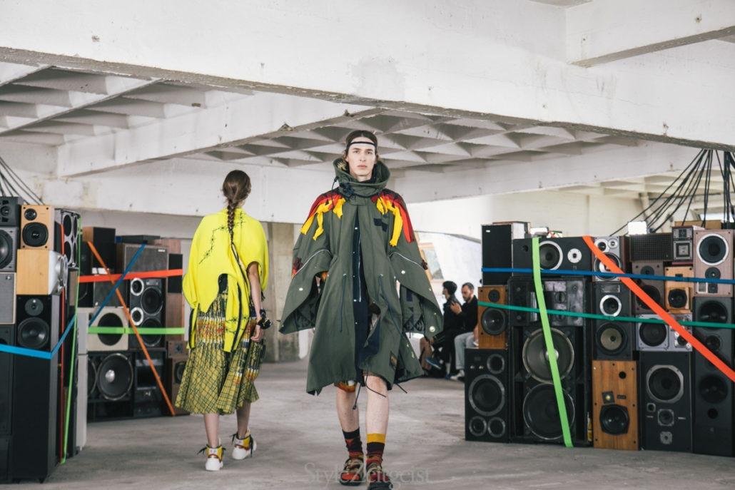 Sacai S/S19 Men's – Paris - fashion - SS19, Spring Summer, Sacai, PFW, Paris Fashion Week, Paris, MENSWEAR, Mens Fashion, Matthew Reeves, Fashion, 2018