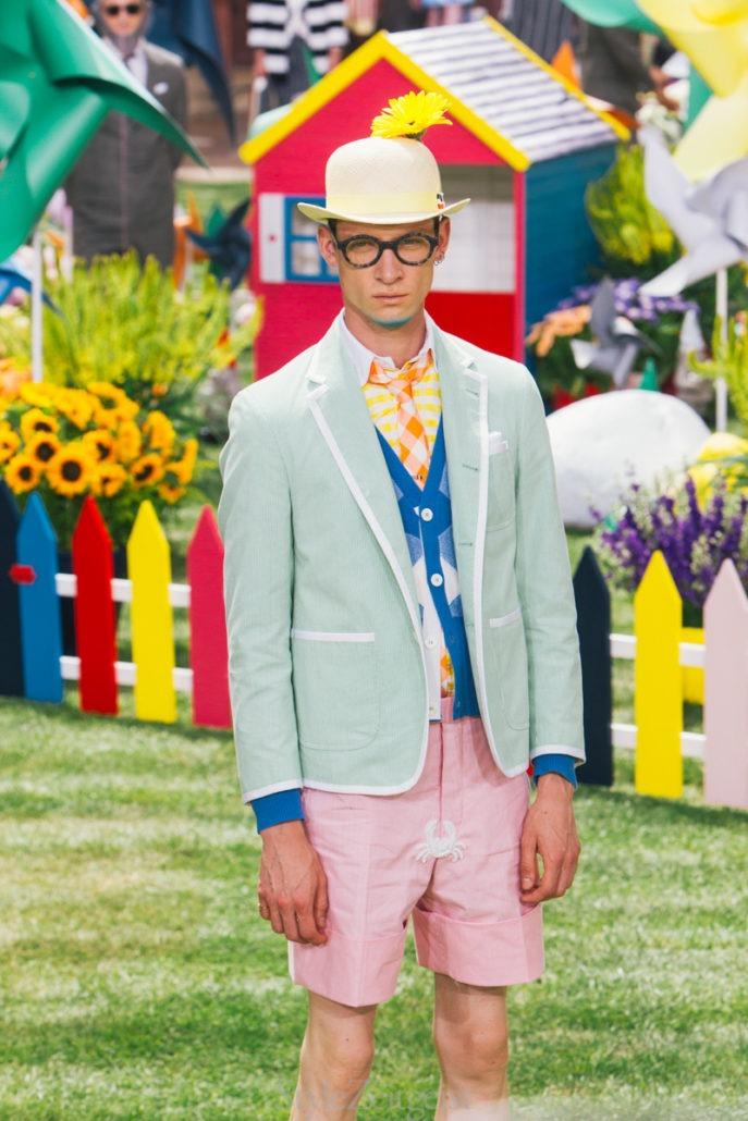 Thom Browne S/S19 Men's – Paris - fashion - Thom Browne, SS19, Spring Summer, PFW, Paris Fashion Week, Paris, MENSWEAR, Mens Fashion, Matthew Reeves, Fashion, 2018