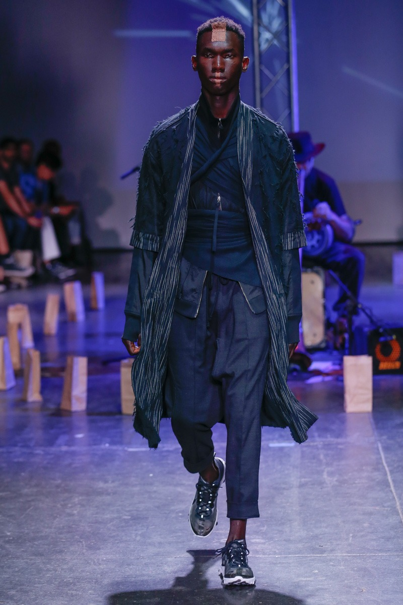 Abasi Rosborough S/S19 Men's – New York - fashion - SS19, Spring Summer, NYFW, New York, MENSWEAR, Mens Fashion, Fashion, abasi rosborough, 2018