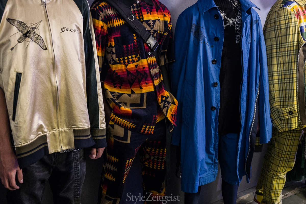 Sacai S/S19 Men's - Paris Backstage - fashion - SS19, Spring Summer, Sacai, PFW, Paris Fashion Week, Paris, MENSWEAR, Mens Fashion, Julien Boudet, Fashion, Backstage, 2018